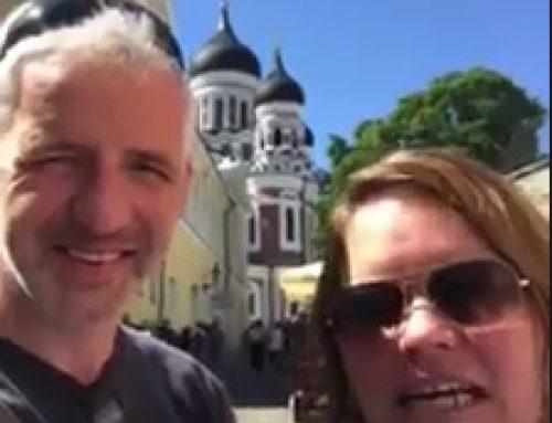 Tag 13: Videobotschaft aus Tallinn