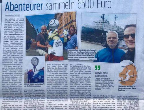 Wieder in Hannover: 1000 DANK an ALLE!